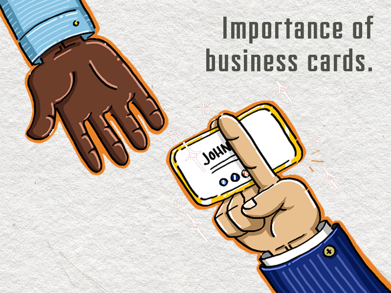Importance Of Business Cards - Premium Business Card Design and ...